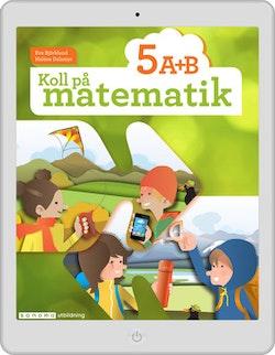 Koll på matematik 5A+5B digital (lärarlicens)