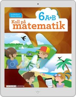 Koll på matematik 6A+6B digital (lärarlicens)