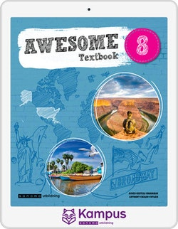 Awesome English 8 Text/Aktiv. digital (lärarlicens)