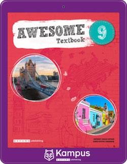 Awesome English 9 Text/Aktiv. digital (elevlicens)