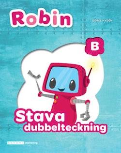 Robin Stava med Robin - dubbelteckning B