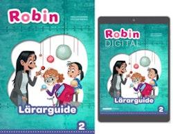 Robin åk 2 Lärarpaket, Guide 1ex tryckt + 1ex digital