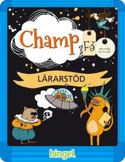 Champ F-3 Lärarstöd Digital