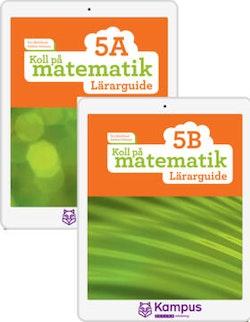 Koll på matematik 5A+B digital (lärarlicens)