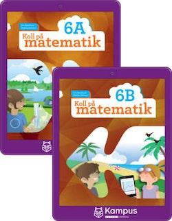 Koll på matematik 6A+B digital (elevlicens)