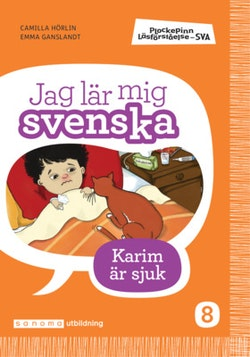 Plockepinn - Jag lär mig svenska Karim är sjuk