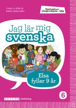 Plockepinn - Jag lär mig svenska Elsa fyller år