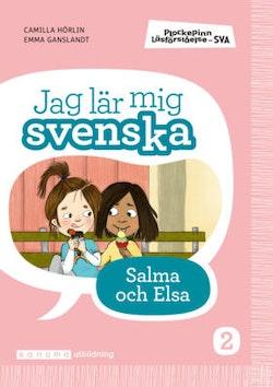 Plockepinn - Jag lär mig svenska Salma och Elsa