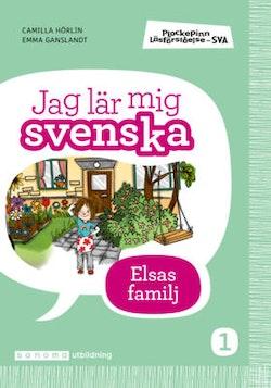 Plockepinn - Jag lär mig svenska Elsas familj