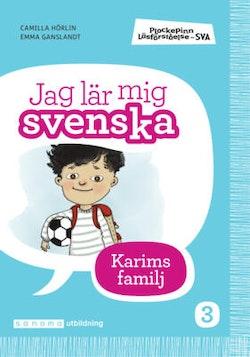 Plockepinn - Jag lär mig svenska Karims familj