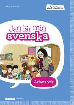 Plockepinn - Jag lär mig svenska Arbetsbok