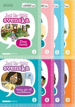 Plockepinn - Jag lär mig svenska (paket) 8 titlar