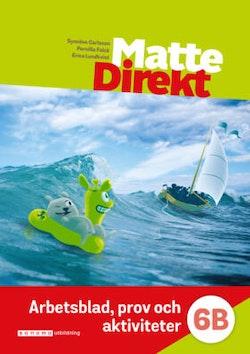 Matte Direkt 6B Arbetsblad, prov och akt. (pdf-filer)
