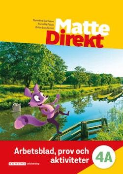 Matte Direkt 4A Arbetsblad, prov och aktiviteter (pdf)