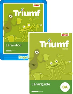Matte Direkt Triumf 3A Lärarpaket, Guide tryckt + digital