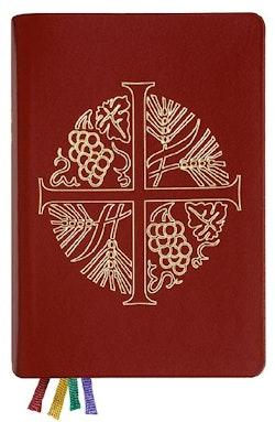 Den svenska psalmboken med tillägg (skinn, guldsnitt)