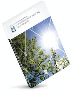 Formasfinansiera forskning om miljöteknik : forskningsprojekt 2008-2017