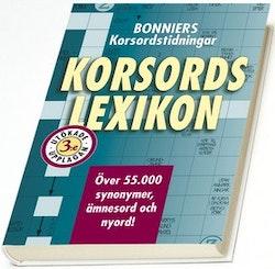 Bonniers korsordstidningar Korsordslexikon