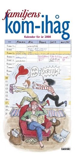 Familjens kom ihåg kalender 2008