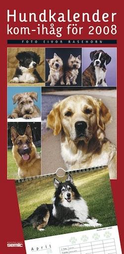 Hundkalender - kom-ihåg för 2008