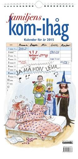 Familjens kom-ihåg-kalender 2015