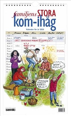 Familjens stora kom-ihåg-kalender 2020