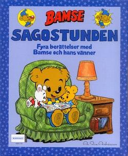 Bamse. Sagostunden : fyra berättelser med Bamse och hans vänner