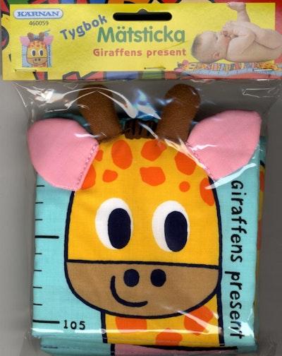 Tygbok - Giraffen present Mätsticka