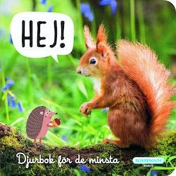 Hej! Djurbok för de minsta