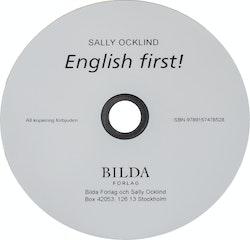 English first! - Cd- Reviderad upplaga