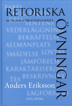 Retoriska övningar : Afthonios' progymnasmata