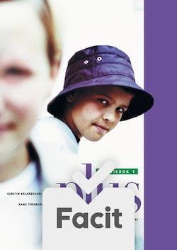 Plus Elevfacit 1 till  grund- och studiebok