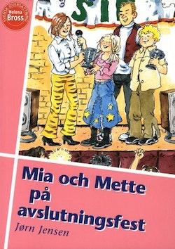 Mia och Mette på avslutningsfest