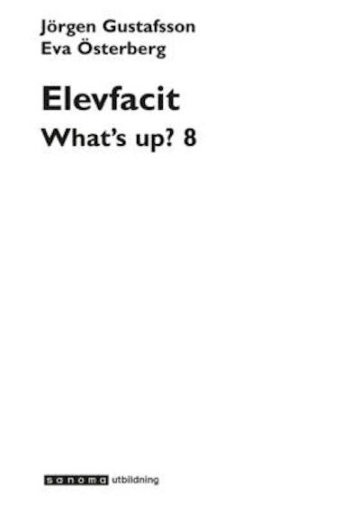 What's up? år 8 Elevfacit
