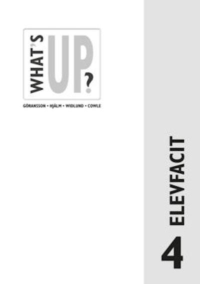 What's Up? 4, Elevfacit