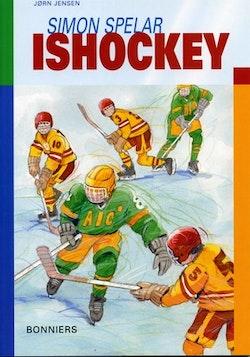 Simon spelar ishockey