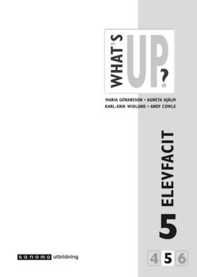 What's Up? 5, Elevfacit