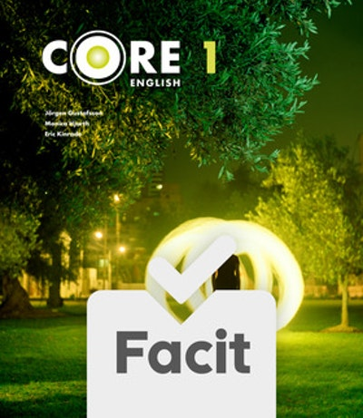 Core English 1 Elevfacit