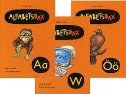 AlfabetsDax 29 alfabetsböcker – paket