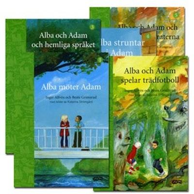 Alba & Adam – paket (5 titlar)