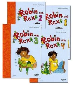 Robin och Rex - paket (4 titlar)