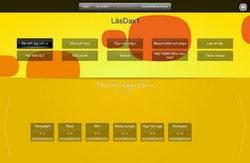 LäsDax 1 för interaktiv skrivtavla/projektor (skollicens) 1 år