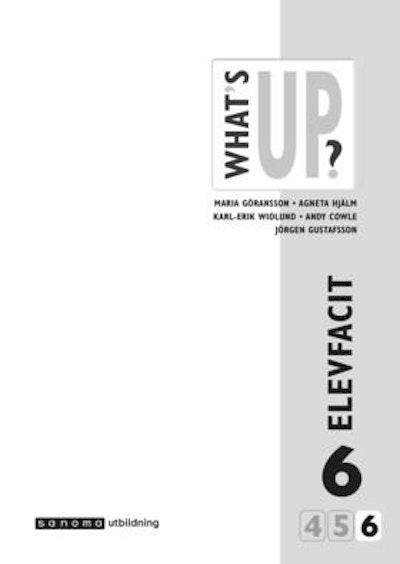 What's Up? 6 (4-6), Elevfacit