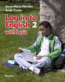 Log in to English 2 with Lexia Elevbok inkl ljudfiler och cd-romövningar