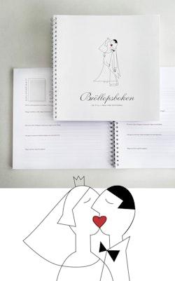 Bröllopsboken : en fyll-i-bok för gästerna