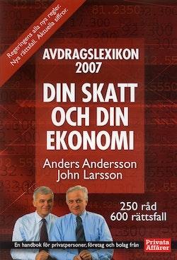 Avdragslexikon 2007