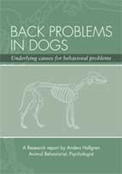 Back problems in dogs : underlying causes for behavioral problems