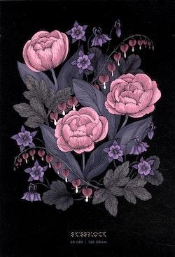 Blomstermandala - Skissblock