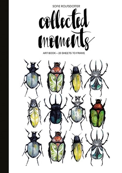Collected Moments : Art book - 20 sheets to frame