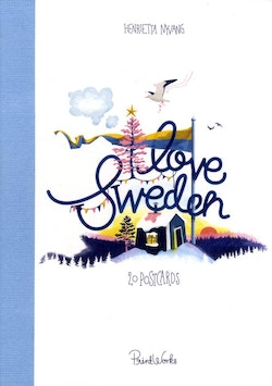 I Love Sweden : 20 postcards